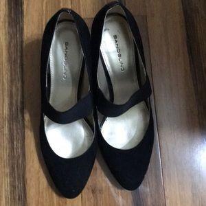 Bandolino Black Felt Shoe